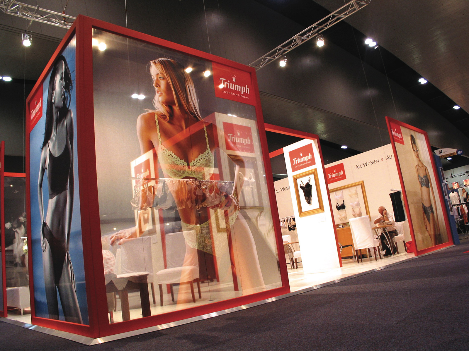 Fabric Exhibition Stand Goals : Exhibition signage & display solutions » visual solutions australia